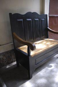 Shabby Chic Storage Bench